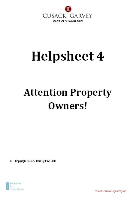Helpsheet 4