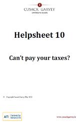 Helpsheet 10