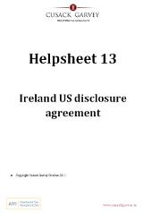 Helpsheet 13