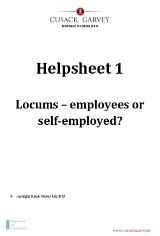 Helpsheet 1